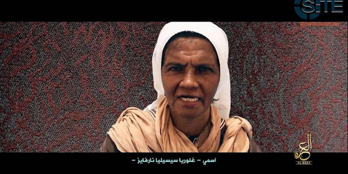 En video monja secuestrada por Al Qaeda pide ayuda al papa