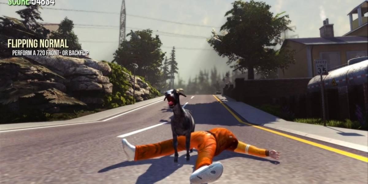 Cabra de Goat Simulator podría llegar a Dota 2