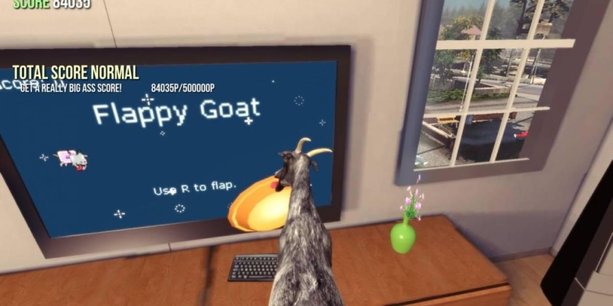 Goat Simulator ya está disponible en Xbox One