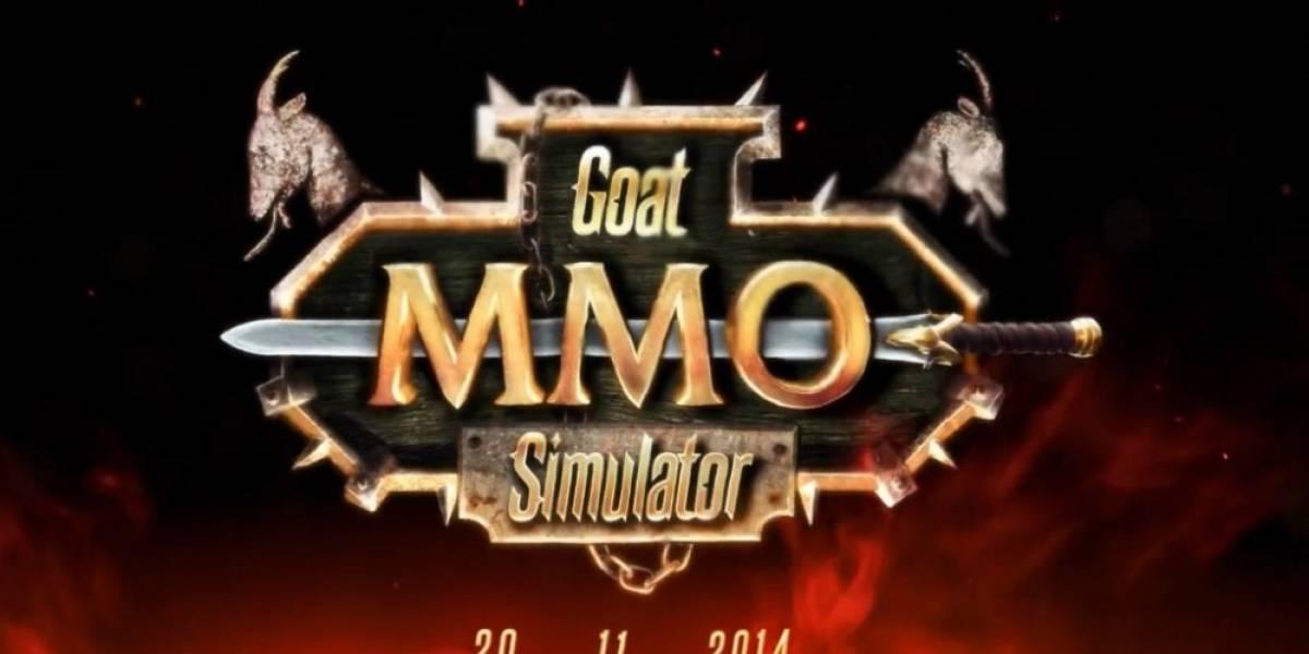 Goat Simulator se convierte en un... ¡MMO!