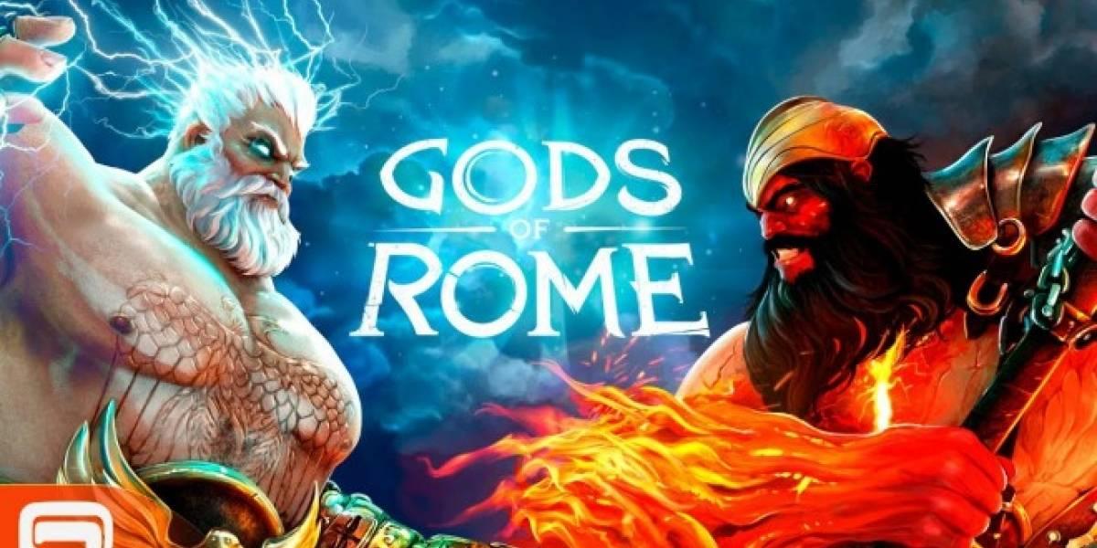 Gods of Rome es el nuevo juego de peleas de Gameloft