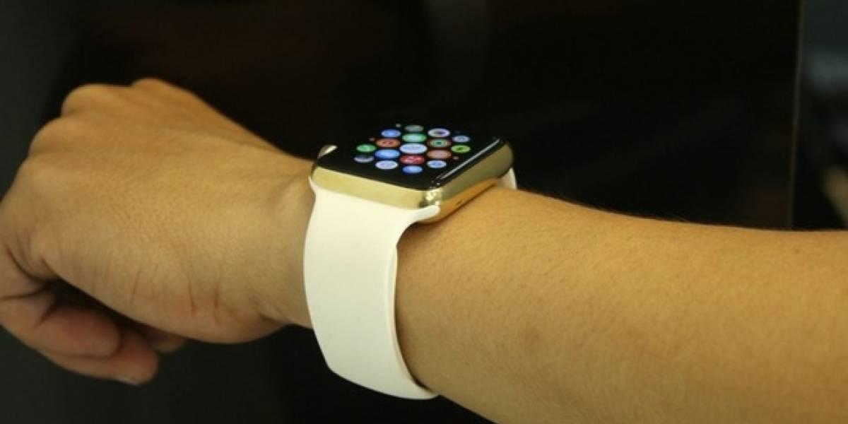 Es posible conseguir un Apple Watch chapado en oro por USD $1,000