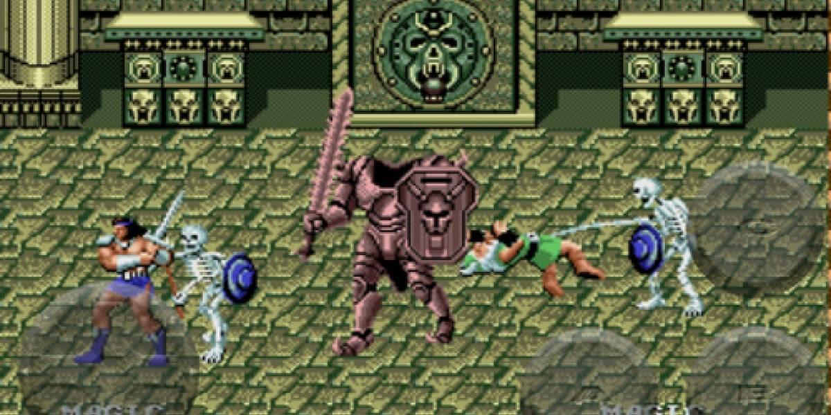 Sega trae dos juegos clásicos del Genesis a los dispositivos iOS