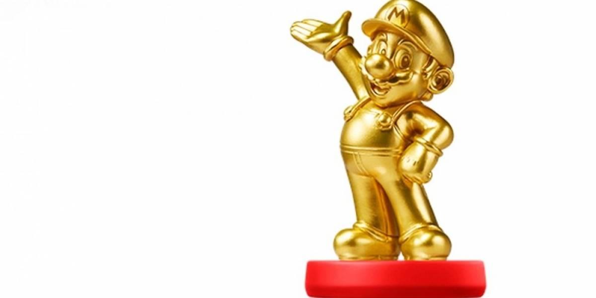 Amiibo Mario dorado llegará el 20 de marzo