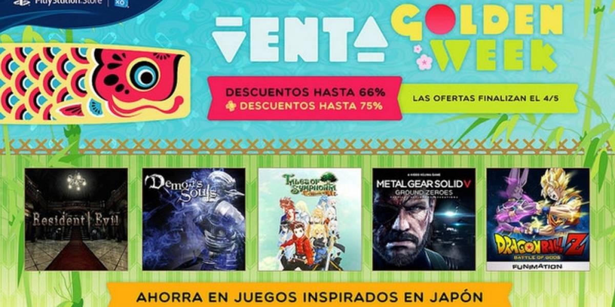 Arranca la Venta Especial Golden Week en PlayStation Store
