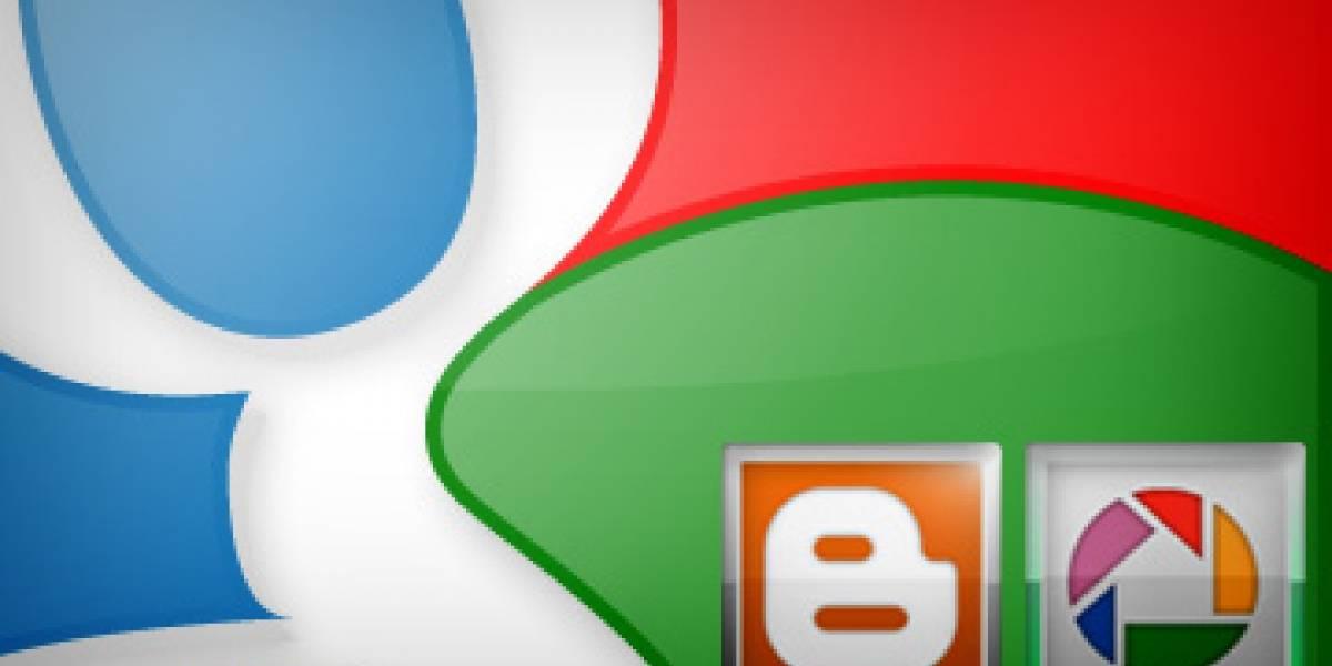 Picasa y Blogger se renombrarían después del lanzamiento de Google+