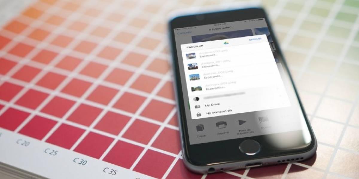 Google Drive para iOS mejora el respaldo de fotos y videos