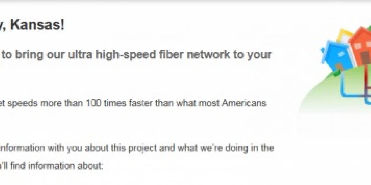 Y el ancho de banda de 1 gigabit de Google es para (redoble)