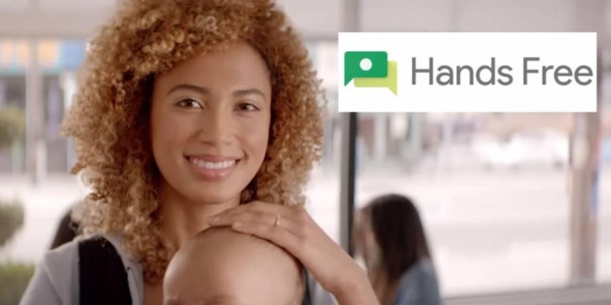 Google Hands Free hace que pagues tus compras con el rostro