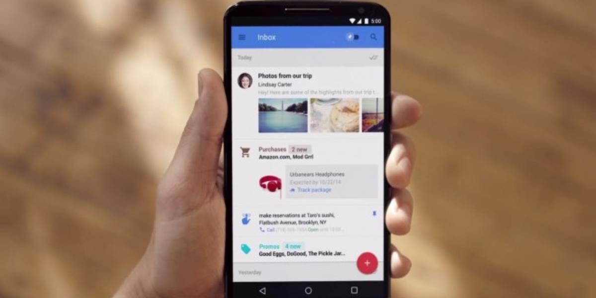 Google integra más tarjetas en las búsquedas de Inbox