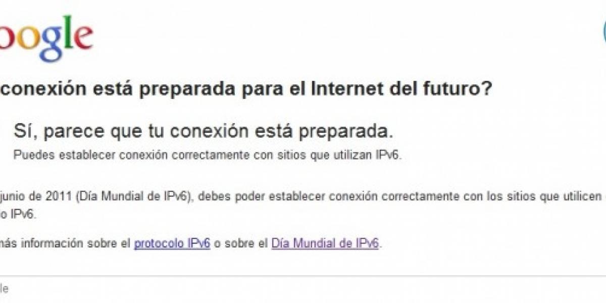 Google lanza sitio para probar si estás preparado para IPv6