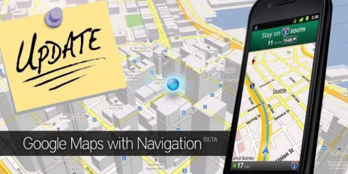 Google Maps llega a su Versión 5.4.0