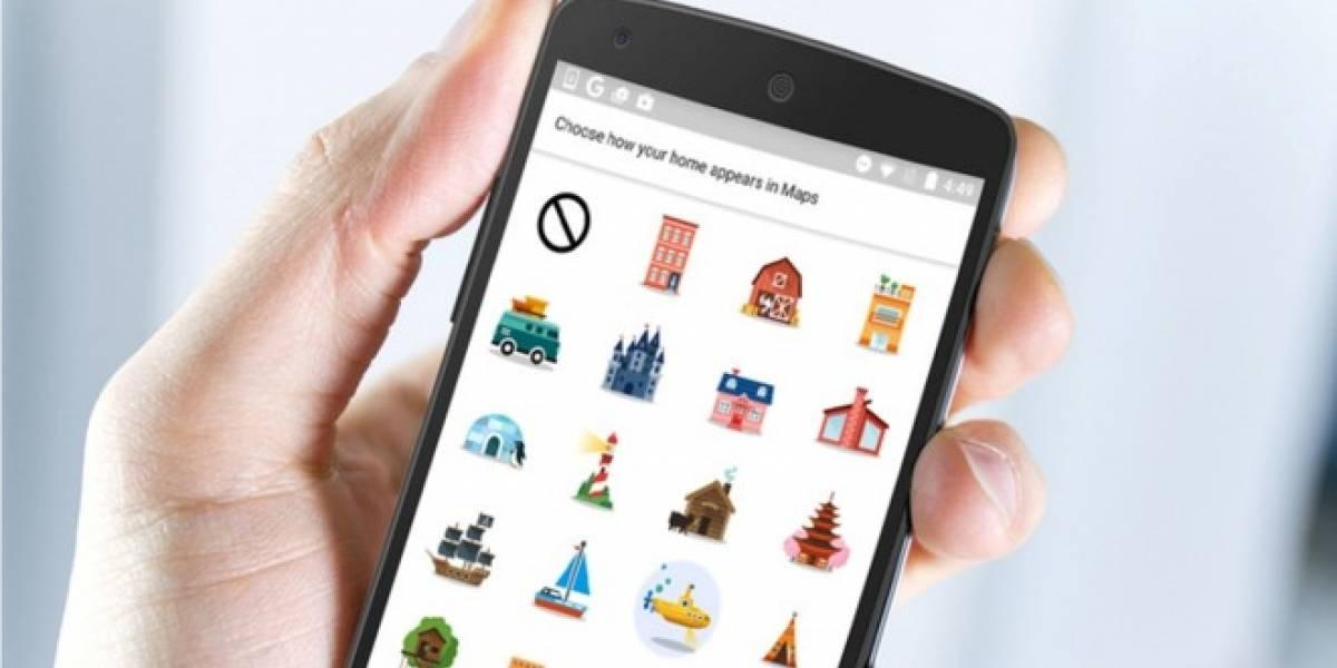Google Maps para Android se une a la moda de los stickers