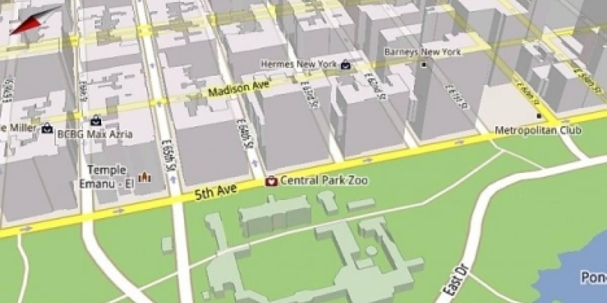 Llega Google Maps 5 para dispositivos móviles