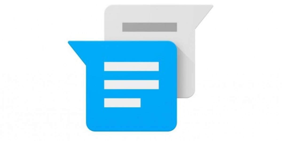 Google Messenger recibe su primera actualización