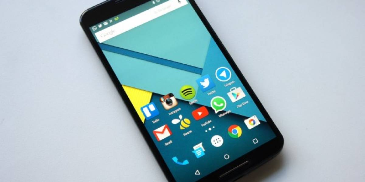 Lollipop ya supera el 12% de uso de Android