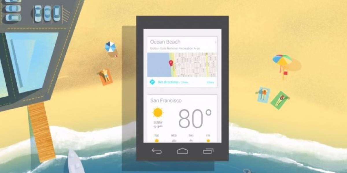 Google Now ya muestra más tarjetas de apps como Spotify o Waze