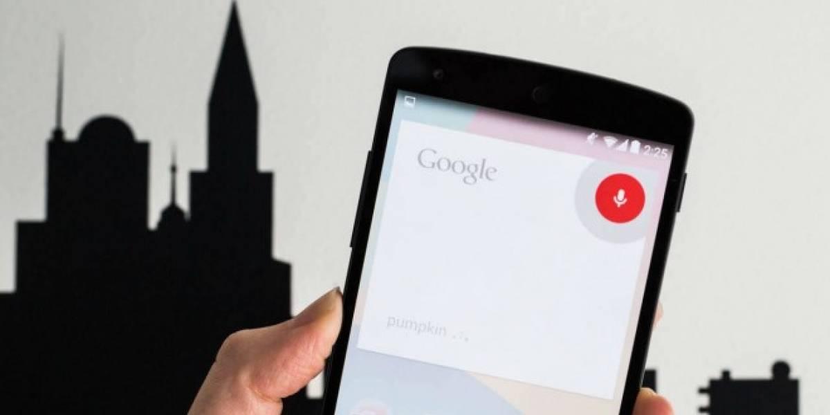 Google Now ahora permite usar comandos de voz sin conexión a internet
