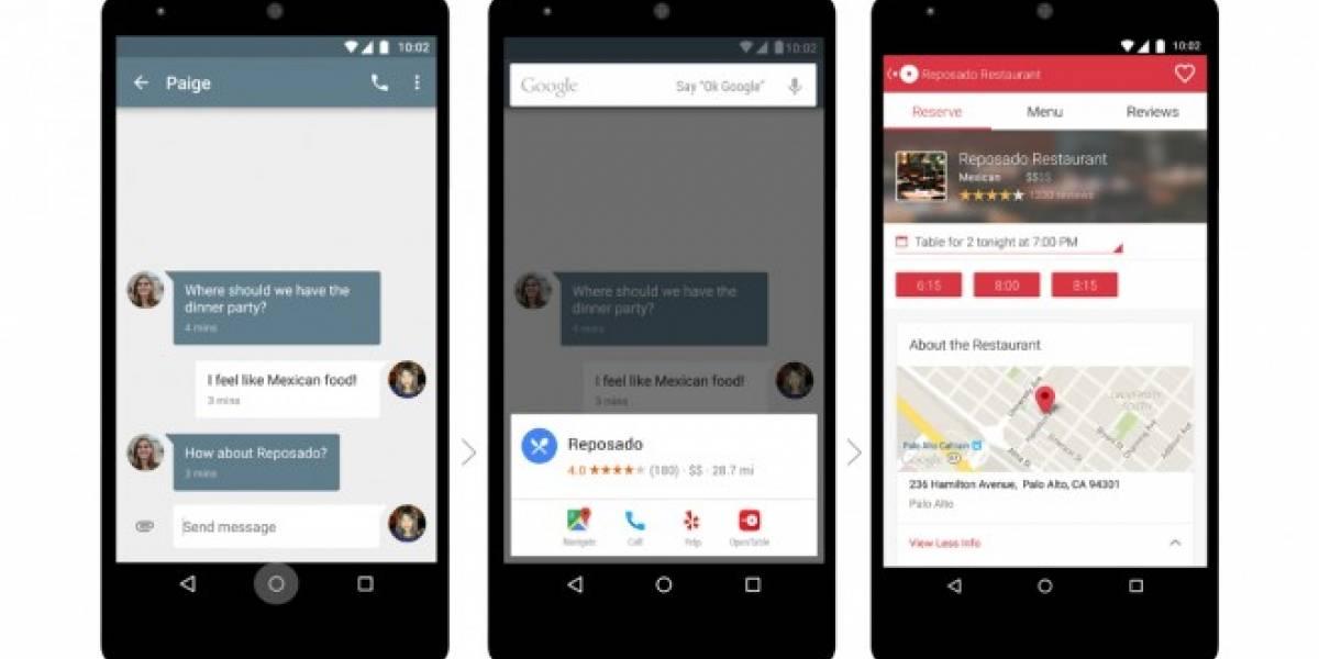 Google Now on Tap ya está disponible en español