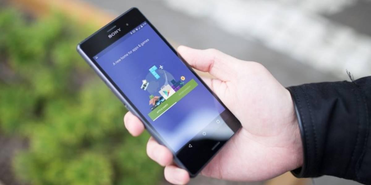 Google Play se actualiza con una renovada interfaz de usuario