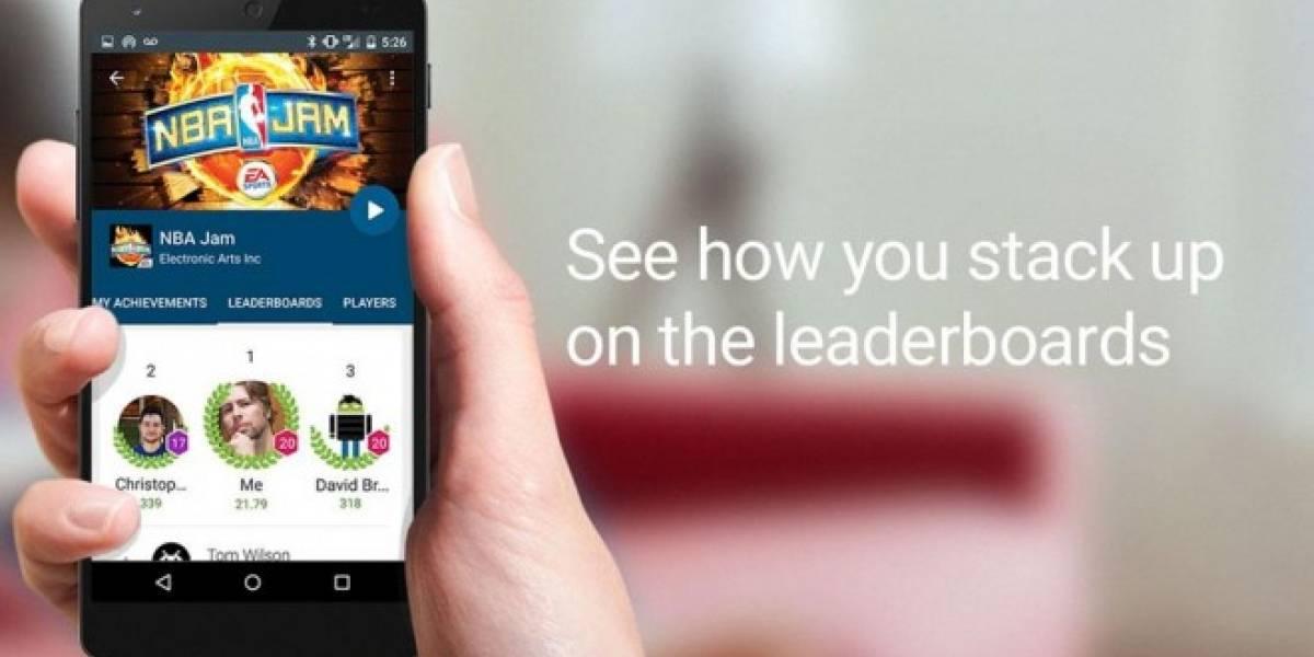 Google Play Games elimina integración forzada con Google+ en Android
