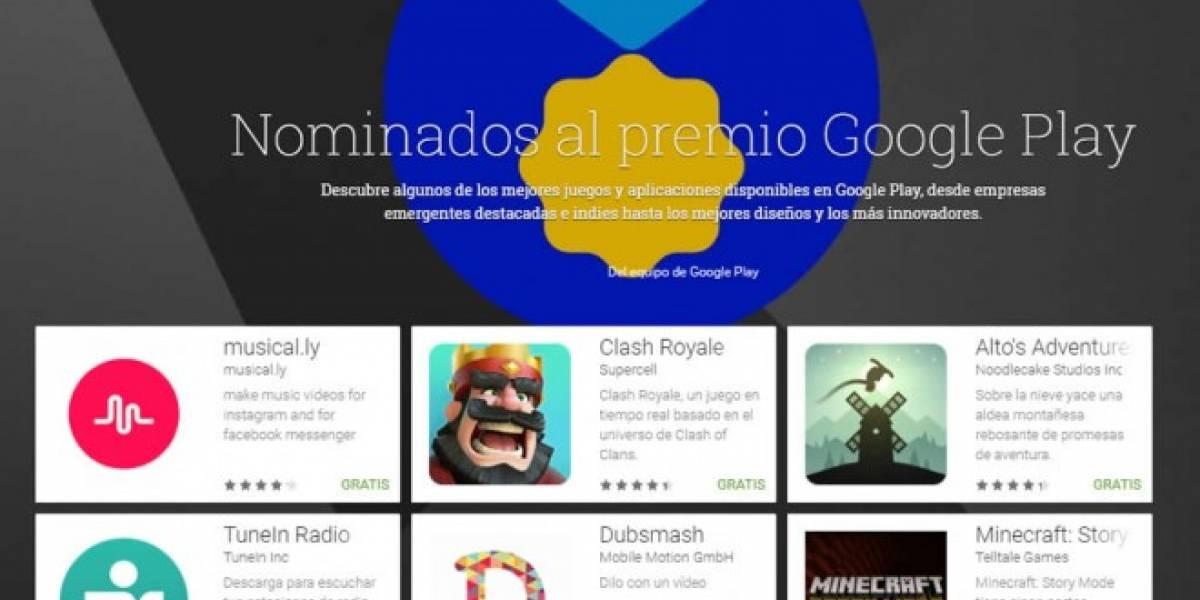 Google eligió las mejores aplicaciones del año en la Play Store