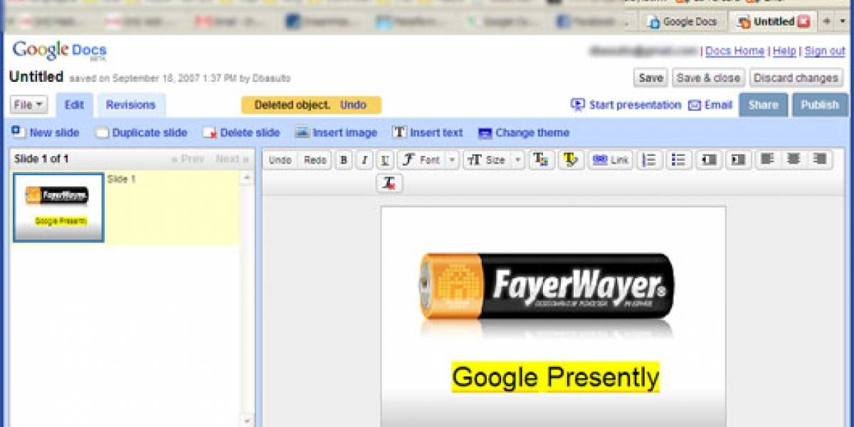 Google presenta Presently