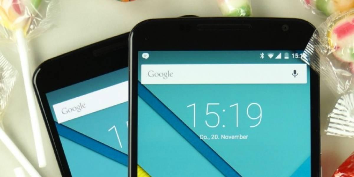 Google muestra ejemplos de comandos en la barra de búsqueda de Android