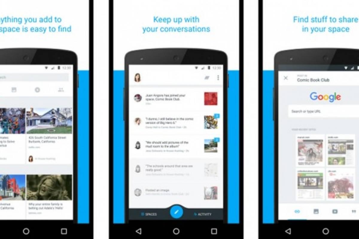 Spaces, la aplicación de chat en grupos que estaría desarrollando Google