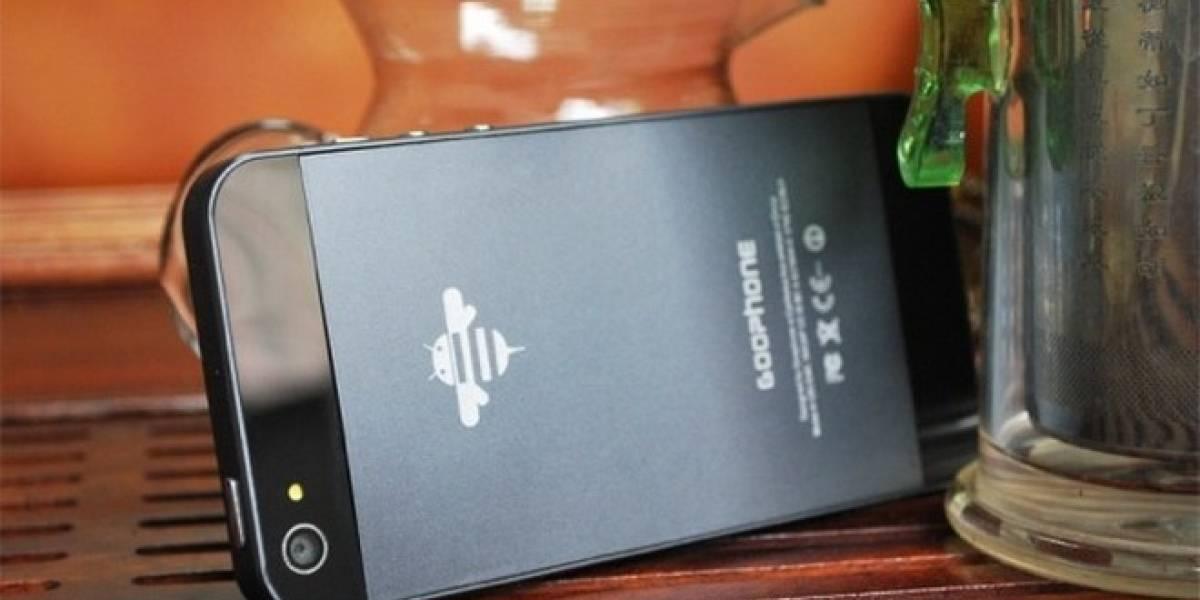 Empresa china pretende demandar a Apple por el diseño del iPhone 5