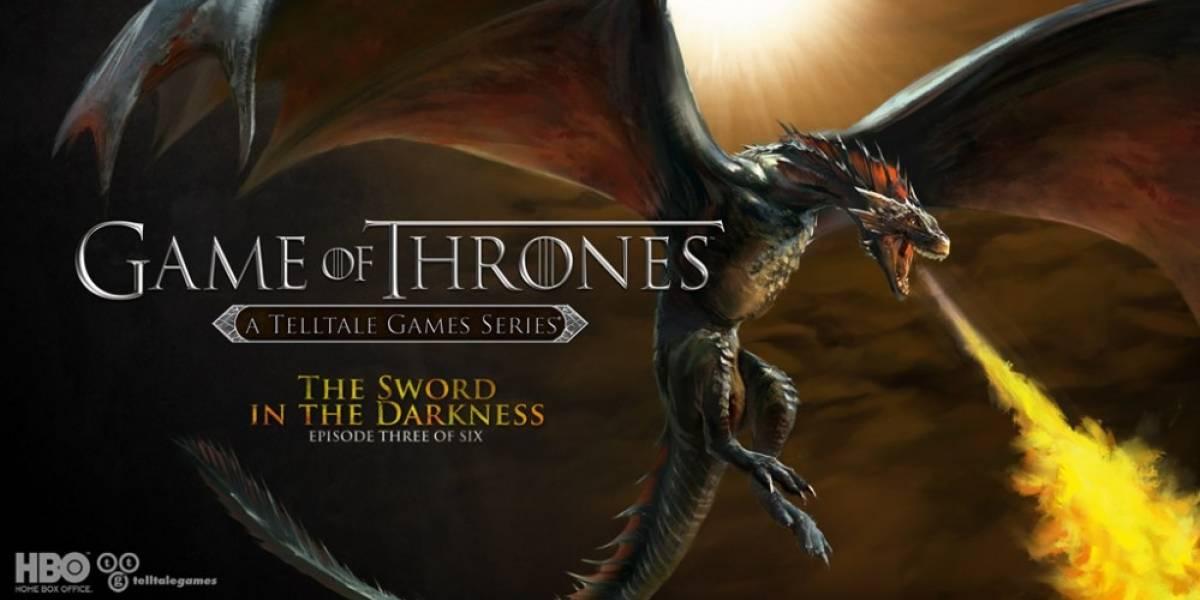 Ya tiene fecha el tercer episodio del juego de Game of Thrones