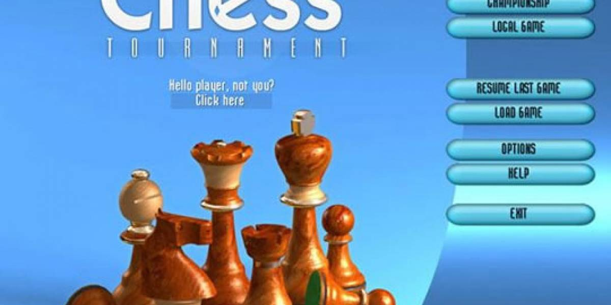 Para los cerebritos: Demo de Grandmaster Chess Tournament