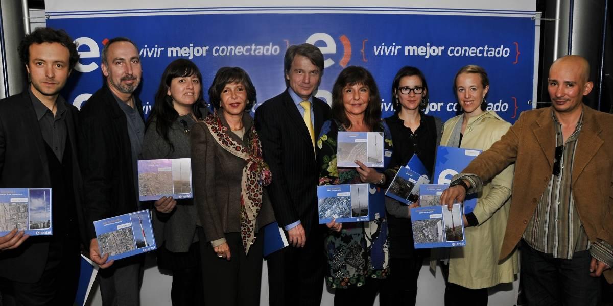"Entel lanza ""ARTEnas para Chile"", iniciativa que busca convertir antenas en hitos urbanos"