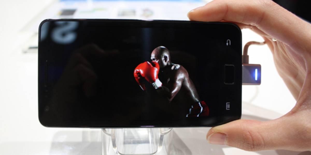 MWC2011: A primera vista de Samsung Galaxy S II actualizado con video y más fotos