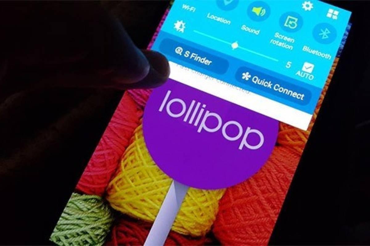Actualiza tu Samsung Galaxy S5 SM-G900M a Android Lollipop oficial