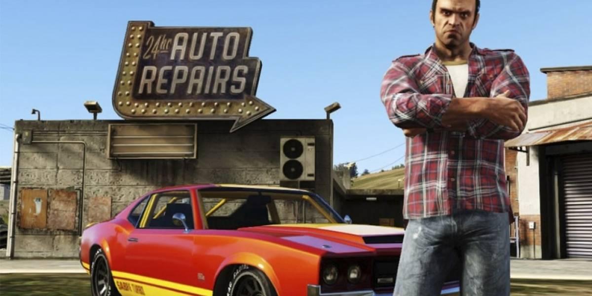 Así se juega realmente Grand Theft Auto V