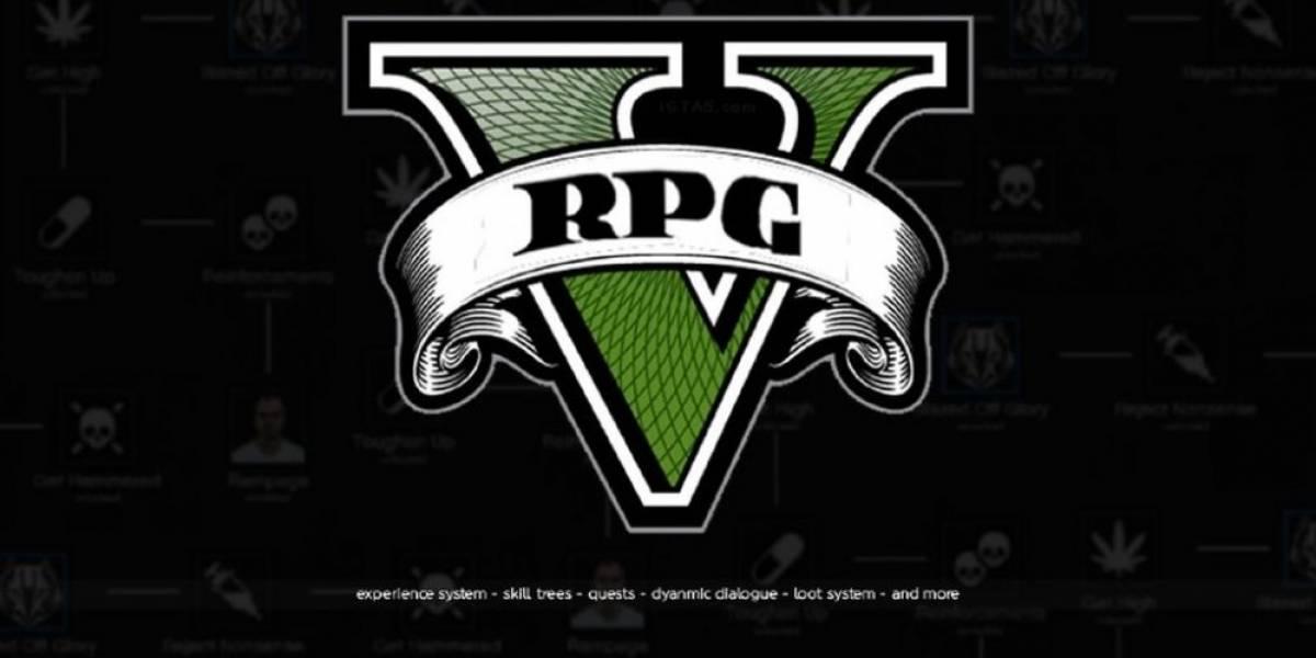 GTA V es ahora un RPG gracias a mod