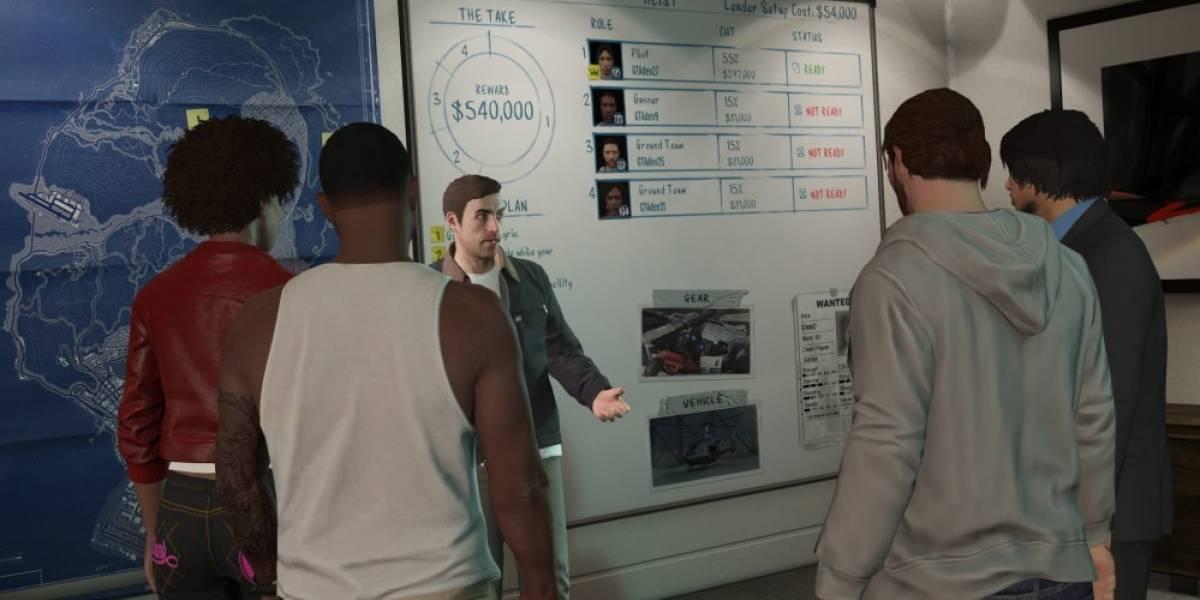 Rockstar investiga el bajón gráfico de GTA V en Xbox One y PS4