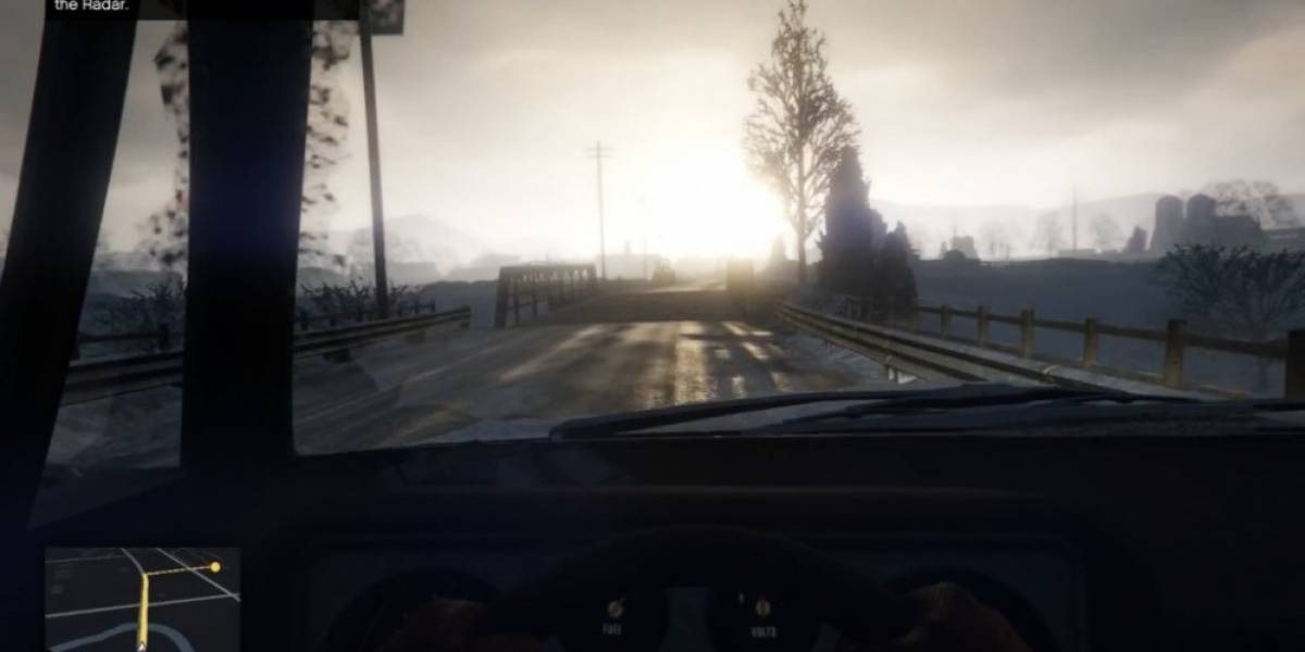 Una hora en primera persona en el nuevo GTA V