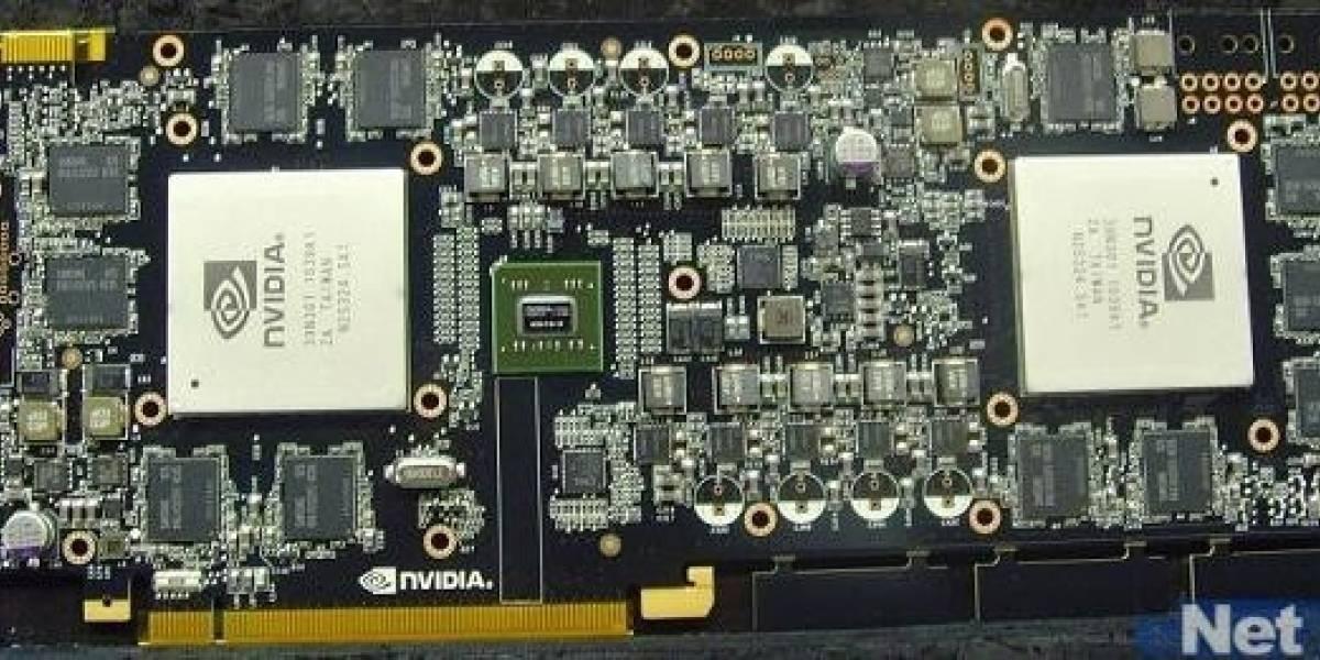 Nvidia Geforce GTX 590 en el CeBit