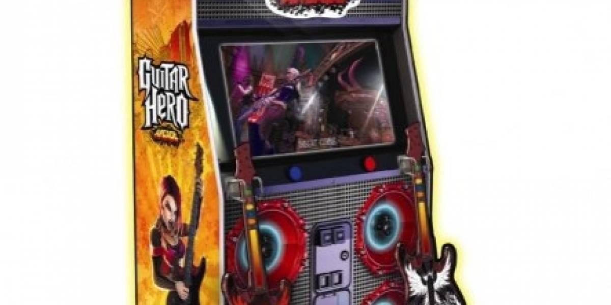 Guitar Hero Arcade: De las consolas a los centros comerciales