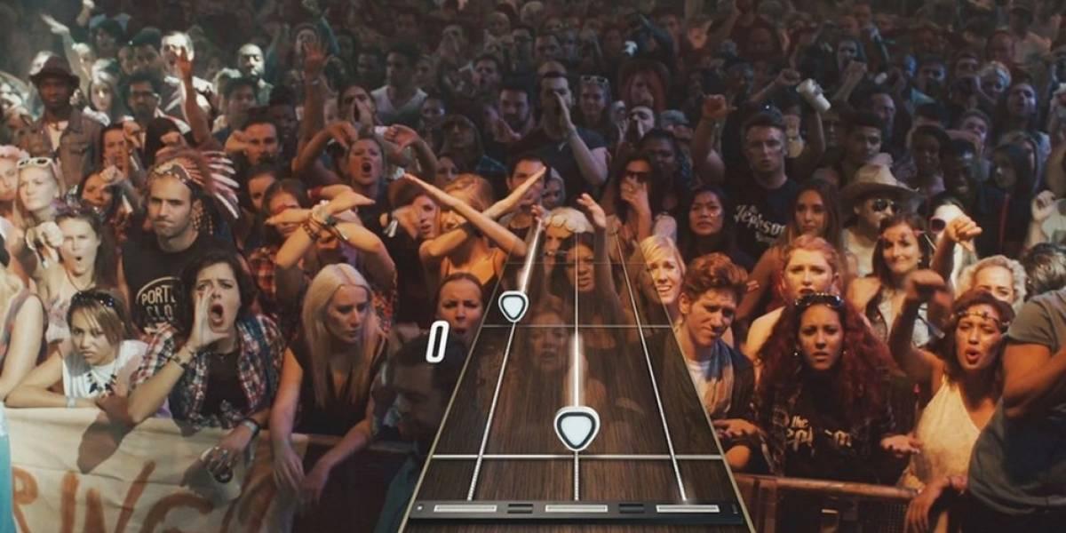 Así se juega Guitar Hero Live