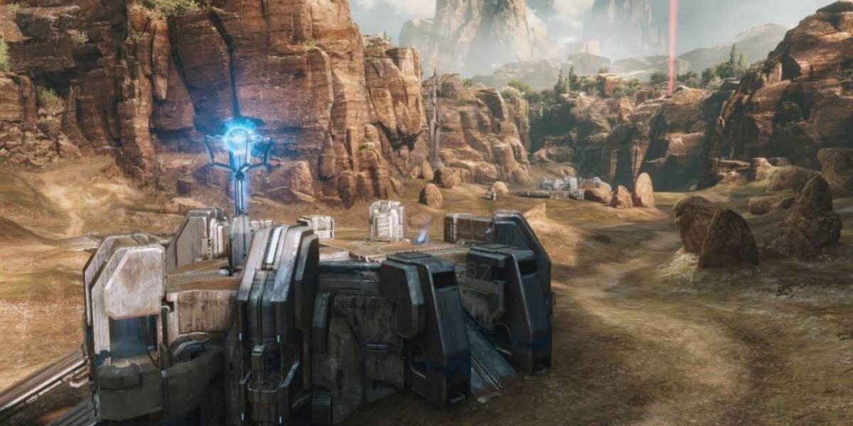 Así es como luce el mapa Coagulation en Halo 2: Anniversary