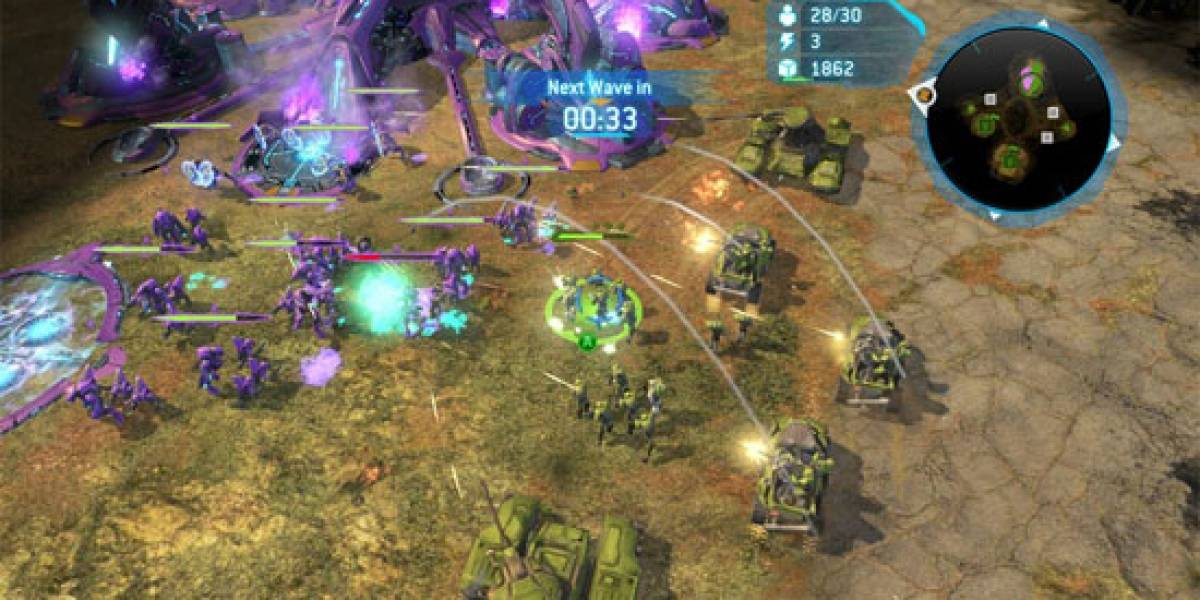 Halo Wars añadirá nuevos modos multijugador