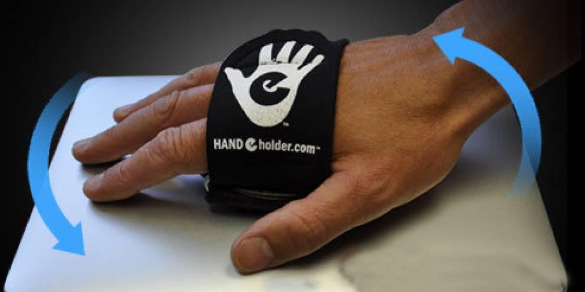 HAND-e-holder: un accesorio para agarrar tu tablet con seguridad