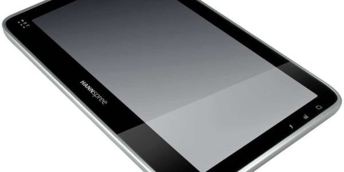 España: La tablet de Hannspree con Android 2.2 llegará a fin de mes