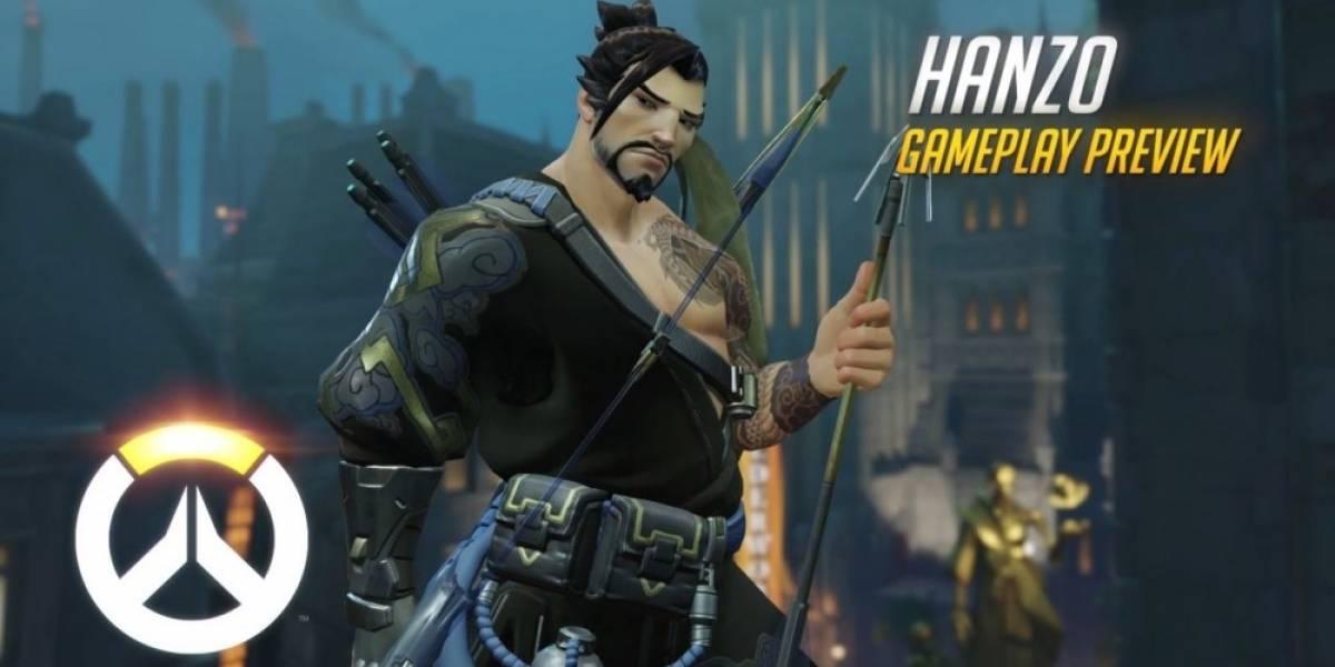 Nuevo video de Overwatch nos presenta al arquero Hanzo