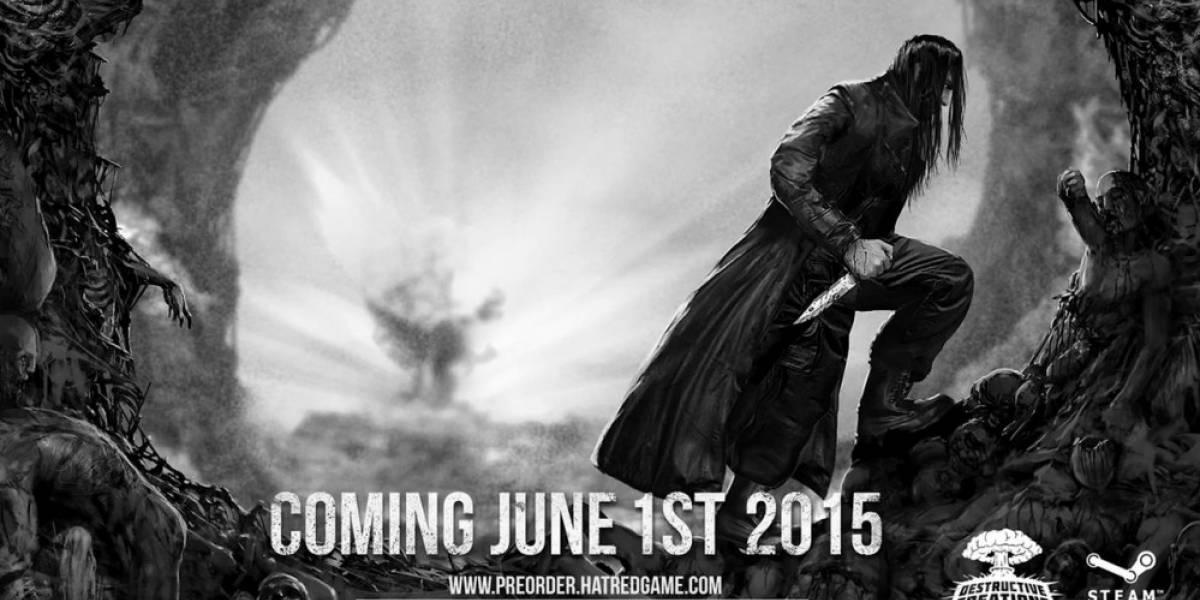 Hatred anuncia su fecha de lanzamiento con violento tráiler