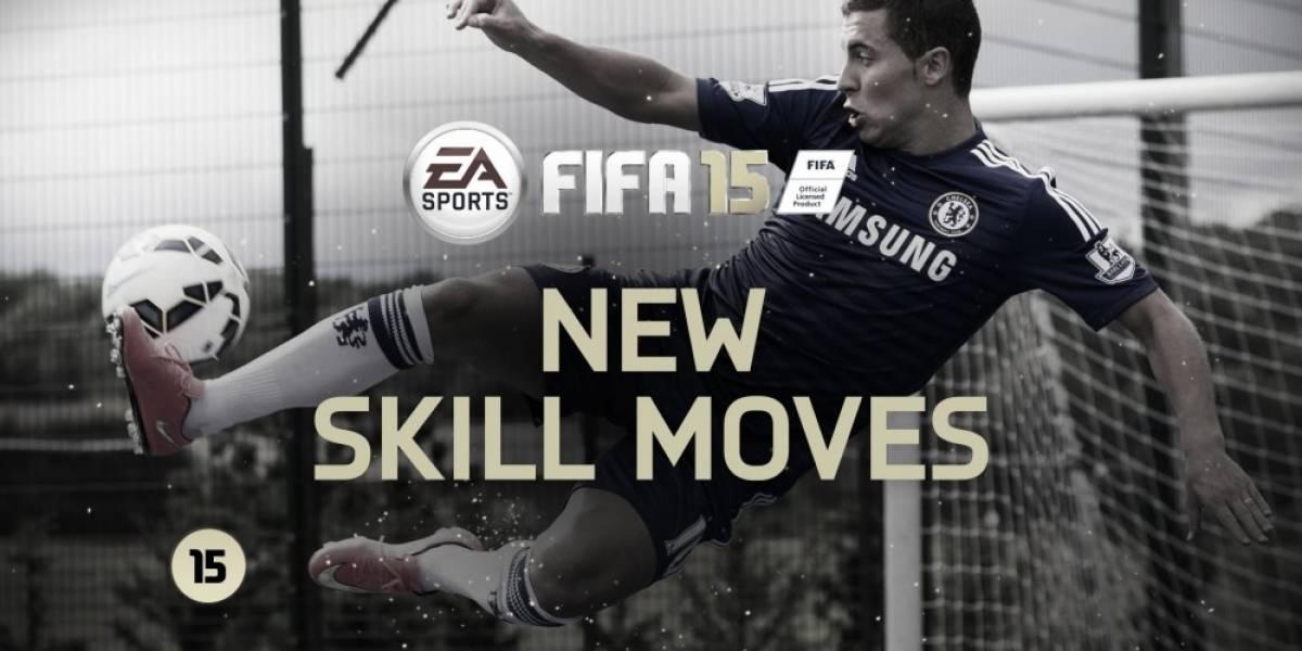 Eden Hazard y sus habilidades en el nuevo video de FIFA 15