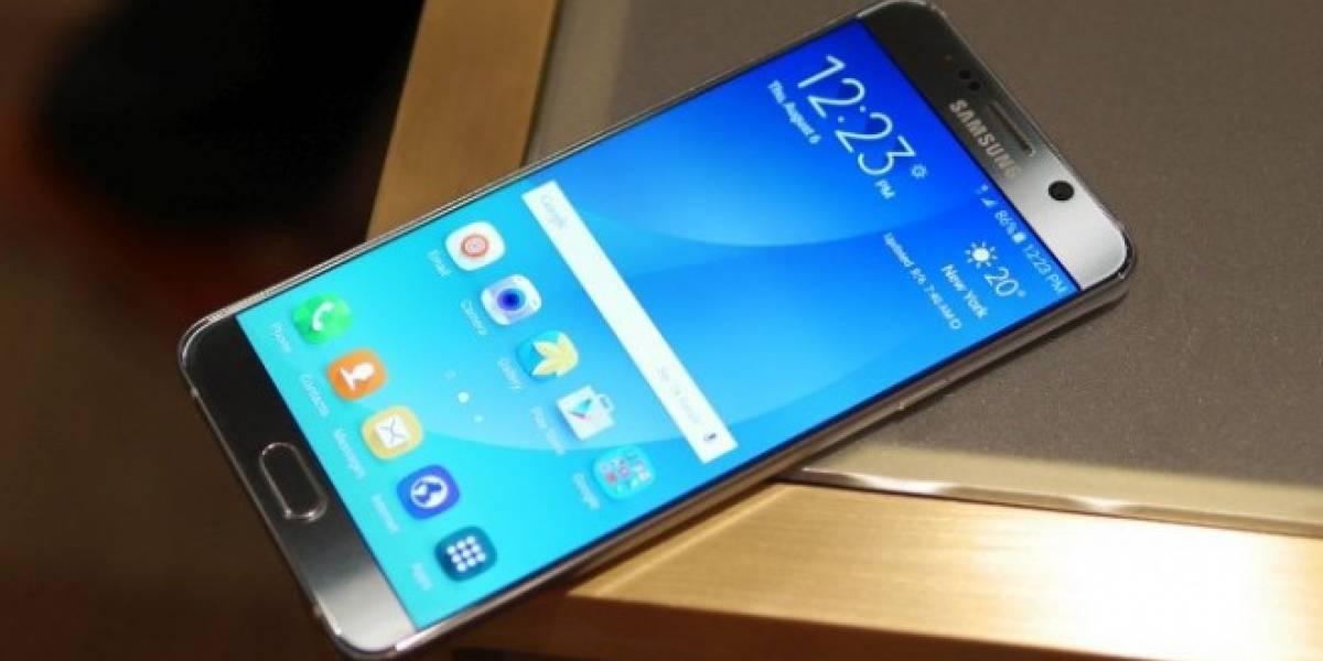 Samsung Galaxy Note 5 tiene la mejor pantalla de todos los smartphones, según DisplayMate